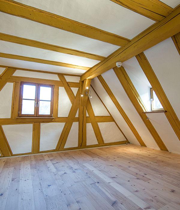 Architektur hammerschloss hirschbach for Fachwerk beispiele